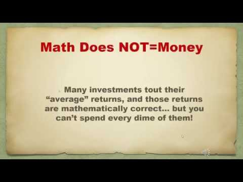 Math Does Not Equal Money Webinar