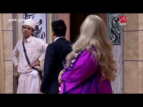 مسرح مصر -تحدي رقص بين ويزو وحمدي ميرغنى مين يكسب