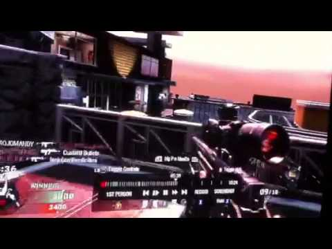 Black ops 1 bullet, 2 kills, double kill