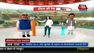 Will Bihar Give PM Modi Another Chance? | Political Stock Exchange With Anjana Om Kashyap - AAJTAKTV