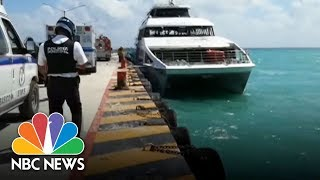 Fiery Blast On Ferry At Mexican Resort Wounds 25 | NBC News - NBCNEWS