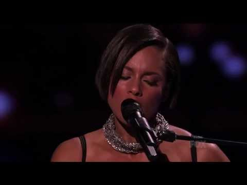 Alicia Keys - Tears Always Win (Live American Idol 2012)