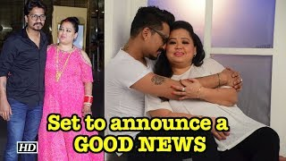Comedian Bharti & Harsh set to announce a GOOD NEWS! - IANSLIVE