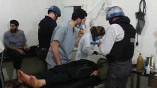 59 قتيلا بالغازات السامة و1480 مصاب في 8 أشهر بسوريا