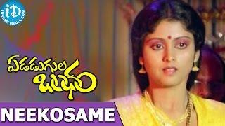 Edadugula Bandham Songs - Neekosame Naa Jeevitam Video Song | Mohan Babu, Jayasudha | Shankar Ganesh - IDREAMMOVIES