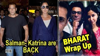Salman- Katrina BACK after 'Bharat' Abu Dhabi Wrap Up - IANSLIVE