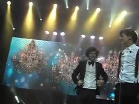 One Direction Wellington concert 2012 front row  Final song (i Want)