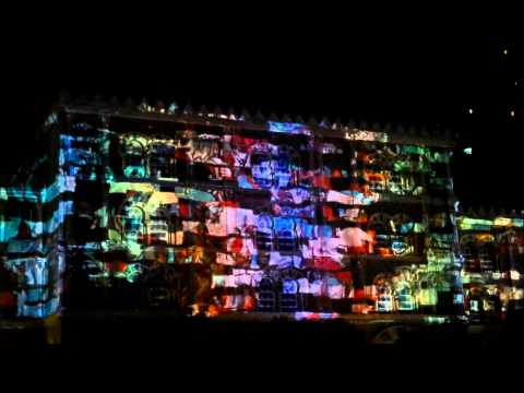 Al qasba Lightshow at sharjah, uae  - 8th february 2014 (PART-2)