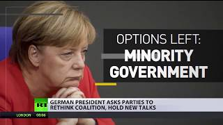 Merkel Snaps? Chancellor is ready to lead Christian Democrats back to polls if needed - RUSSIATODAY