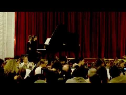 Haydn: Concert in D-major, 1.movement - Tijana Stakić