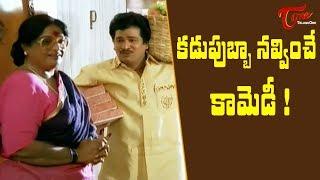 కడుపుబ్బా నవ్వించే కామెడీ సీన్స్ | Telugu Movie Comedy Scenes | TeluguOne - TELUGUONE