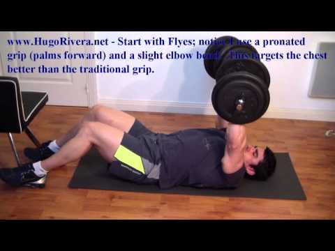 7-Min Home Chest Workout Routine