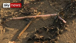 The 'straw snatcher' is after your plastic - SKYNEWS