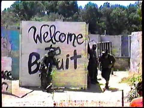 1994 Paraplegic Turtles at SC Village playing Rec-paintball on the Beruit field