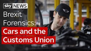 UK car-makers challenge the Government's Brexit plan - SKYNEWS