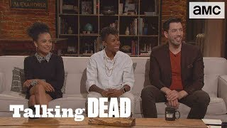 'Is Carol Back to Her Murdering Ways?' Highlights Ep. 906 | Talking Dead - AMC