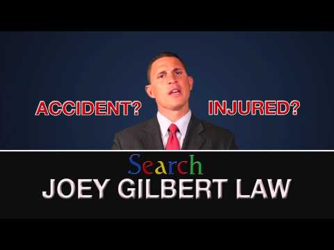 Personal Injury Part 1- Joey Gilbert & Associates