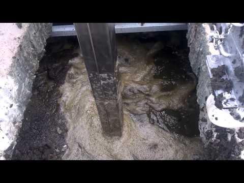 AGROMOTOR mieszadło podrusztowe 5,5 kW bardzo sucha gnojowica   1 film