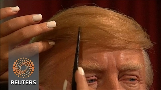 Trump's hair a challenge for Madame Tussauds sculptors - REUTERSVIDEO