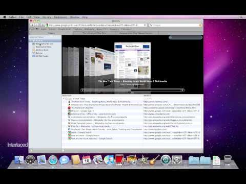 Mac OS X Snow Leopard: Bookmarks in Safari