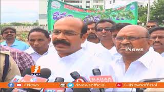 TDP MLA Mohan Reddy Participates Vanam Manam Program In Kurnool | iNews - INEWS