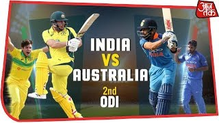 India Vs Australia 2nd ODI Live: Australian Innings Underway After Winning The Toss In Adelaide - AAJTAKTV
