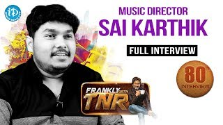 Frankly With TNR #80 - Full Interview || Talking Movies With iDream - IDREAMMOVIES