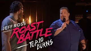 Roast Battle's Top 10 Burns - Uncensored - COMEDYCENTRAL