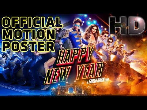 Happy New Year - Motion Poster