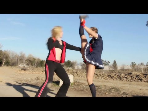 Muay Thai Girl vs Crazy Boxing Girl | Martial Arts Action Scene - صوت وصوره لايف