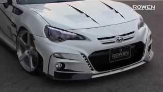 فيديو: تويوتا GT 86 معدلة من Rowen International