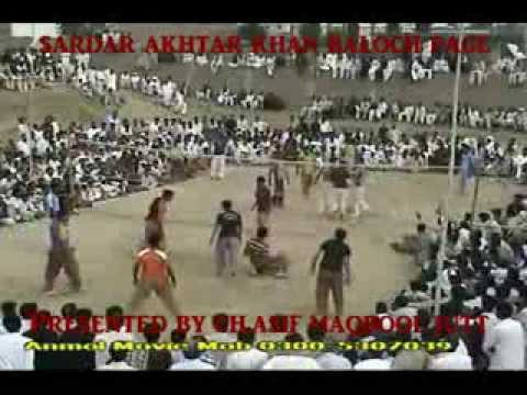 Shooting Volleyball Super 4 At Sukho Noori Kharal Vs Akhtar Baloch 12/05/2012