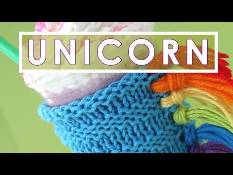 How to Knit a Unicorn Drink Cozy | Summer Knit Series