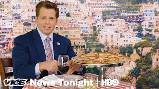 Watch Anthony Scaramucci Try To Compliment Trump (HBO) - VICENEWS