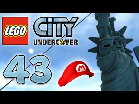 Let's Play Lego City Undercover Part 43: Lady Liberty Island