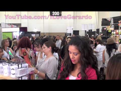 IMATS 2010-Meeting YouTube Celebrities!