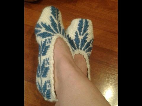 crochet zapatillas sneakers tunecinas ( with subtitles in several lenguage)