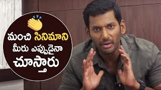 Hero Vishal Talks About Detective Movie Success | Andrea Jeremiah | Anu Emmanuel | TFPC - TFPC