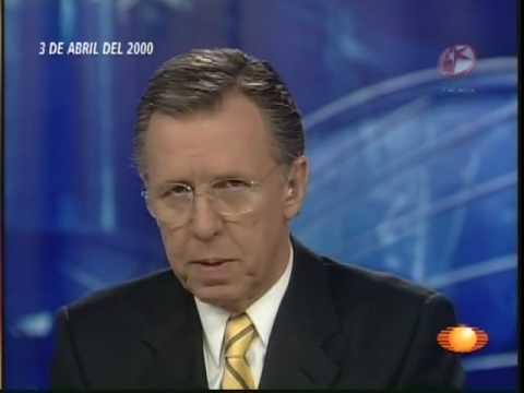 Lopez Doriga 3 abril 2000 primer programa