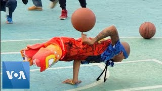 US Street Basketball Team Performs in Venezuela - VOAVIDEO