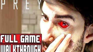 PREY Gameplay Walkthrough Part 1 FULL GAME 1080p No Commentary (PREY 2017 FULL GAME)