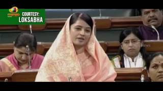Riti Pathak Speech On Demanding Discussion and Voting On Grants For Railway Budget 2017 | Mango News - MANGONEWS