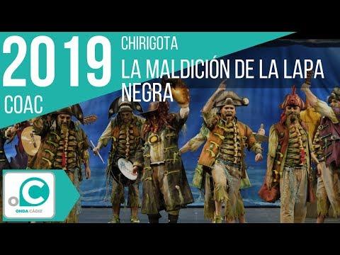Sesión de Cuartos de final, la agrupación La maldición de la lapa negra actúa hoy en la modalidad de Chirigotas.