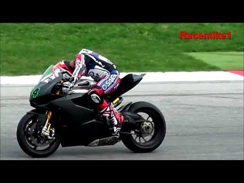 Ducati SBK Team Althea - Testing at Misano Circuit the 1199 Panigale - C.Checa, D.Giugliano