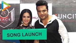 "Sunny Leone & Krishna Abhishek at the sonu launch ""Lovely Accident"" - HUNGAMA"