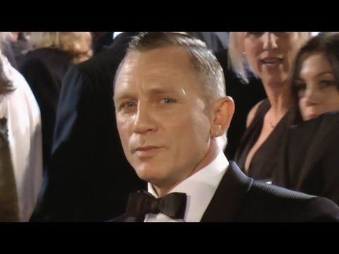 SkyFall Premiere Daniel Craig as James Bond London 2012 World Premiere