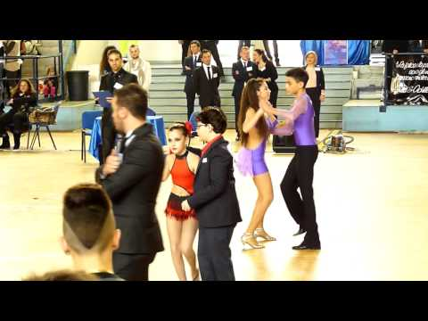 Fabiano Dragotto & Giuliana Cutrona 1° classificato classe E,Bachata