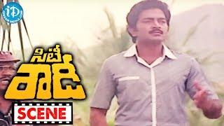 City Rowdy Movie Scenes - Madhavi And Jhansi Fighting With Goons || Rajasekhar || M Karnan - IDREAMMOVIES