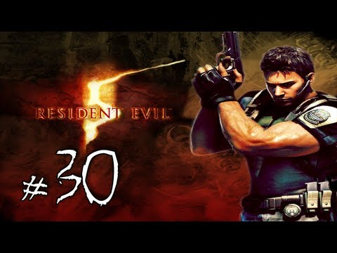 Resident Evil 5 Walkthrough / Gameplay with LazyCanuckk Part 30 - Magnum FTW