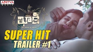 Khakee Movie Super Hit Trailer #1 || Khakee Telugu Movie || Karthi, Rakul Preet || Ghibran - ADITYAMUSIC